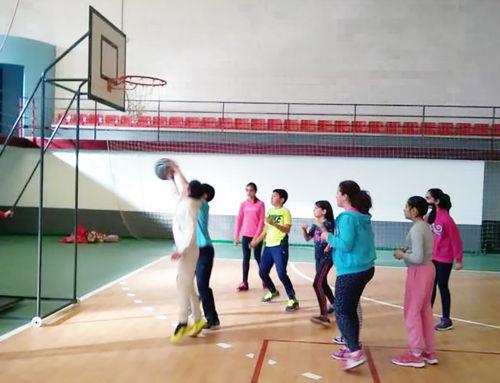El colegio dedica al baloncesto sus terceras jornadas deportivas
