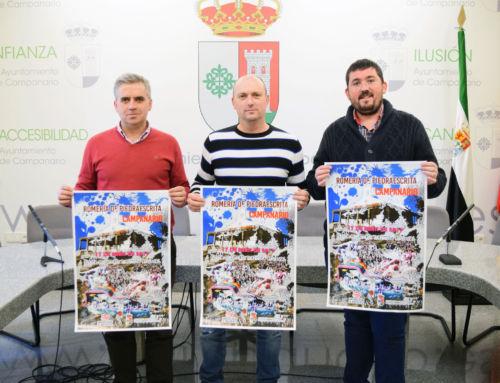 Esta semana ha sido presentado en el Ayuntamiento el cartel de la Romería de Piedraescrita 2017
