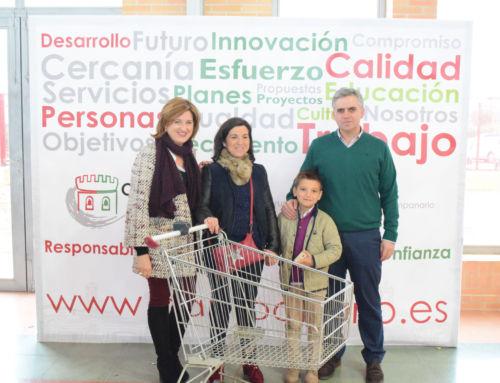 Con la entrega del carrito de la compra finalizó la programación de la III edición de la Feria Multisectorial