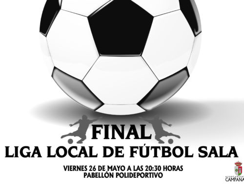 Final Liga Local de Fútbol Sala de invierno