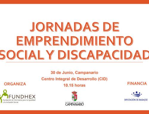 """Jornada """"Emprendimiento Social y Discapacidad"""" – Campanario 2017"""