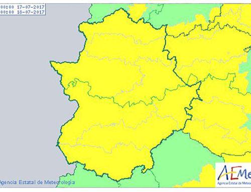 La ola de calor se despide este domingo de Extremadura con avisos naranjas.