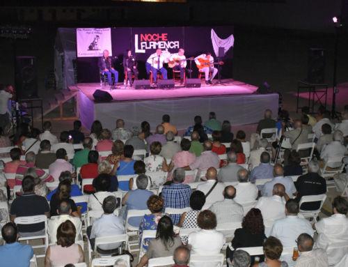 La noche flamenca de Campanario alcanzo el pasado sábado su quincuagésima edición
