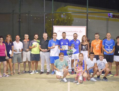 La pareja Sebas y Mario,campeones del torneo de pádel de verano 2017