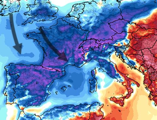 Caída de temperaturas en muchas zonas de la península tras el calor de estos días