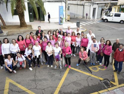 I Marcha contra el cáncer de mama
