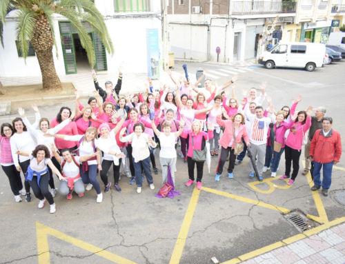 I Marcha contra el cáncer de mama en Campanario