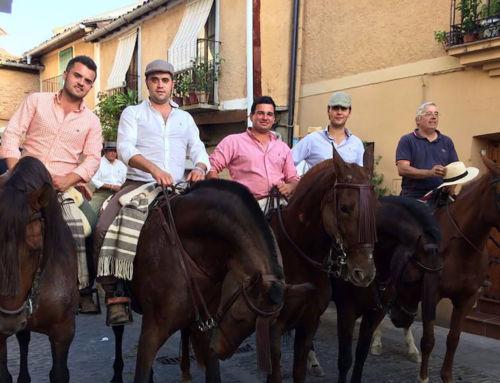 La Asociación 'Arte de Campanario' realiza su primera ruta ecuestre a Guadalupe
