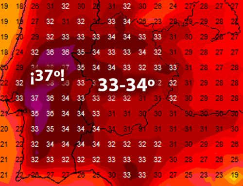 Calor de verano en octubre.