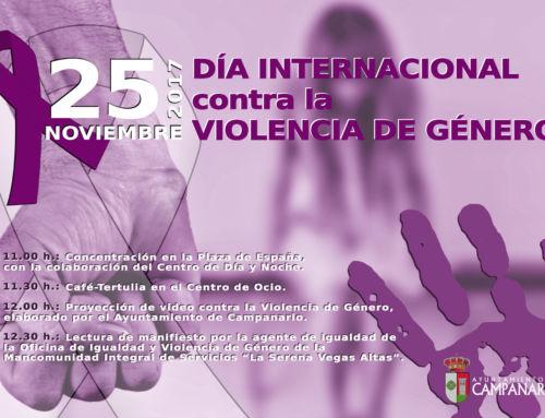 Ya luce en el balcón del Ayuntamiento el lazo morado, símbolo del Día Internacional contra la Violencia de Género