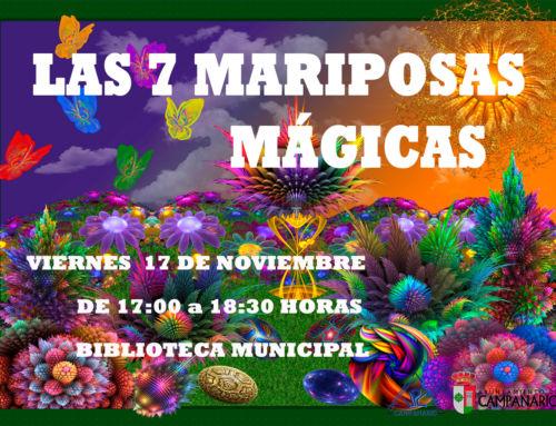 """""""La hora del cuento"""" – Las 7 mariposas mágicas"""