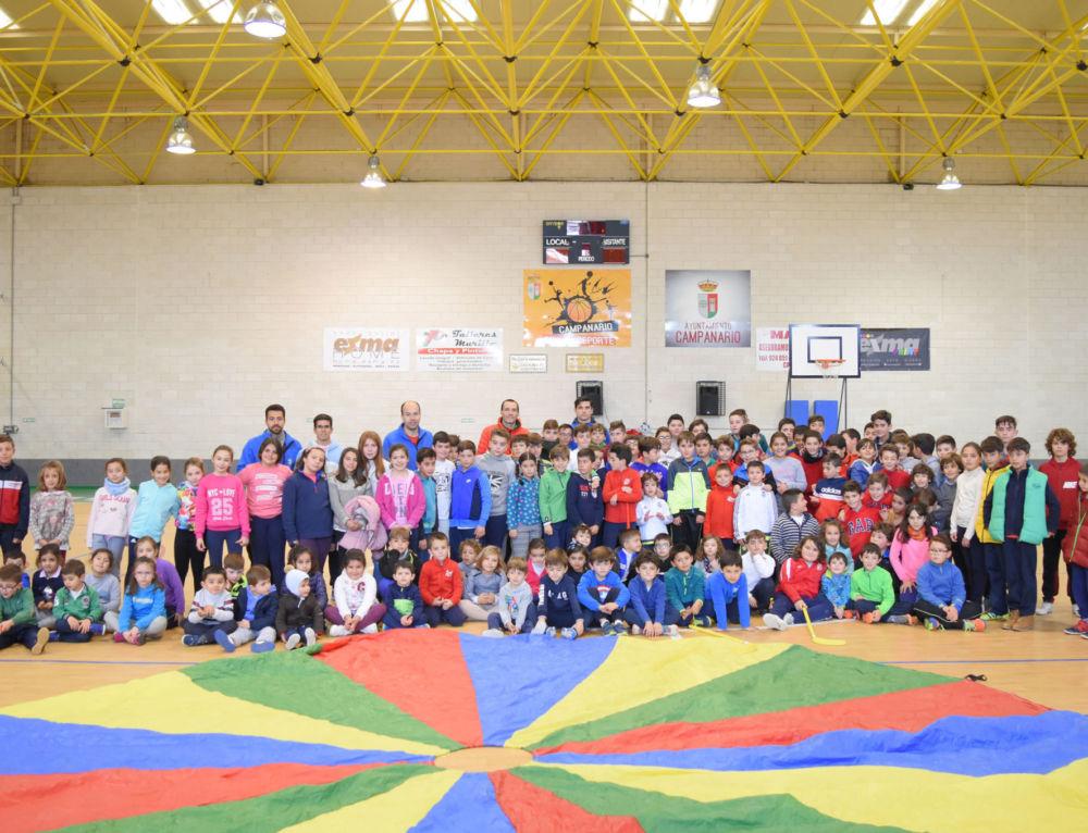 Cerca de 150 niños participan en el II Día del Deporte Infantil