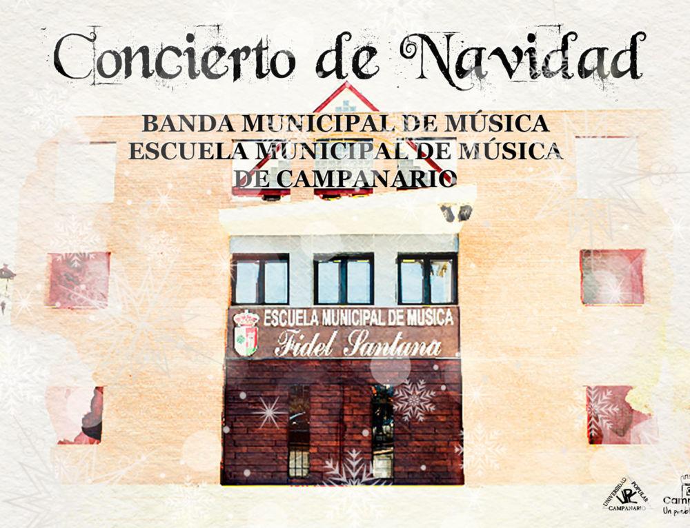 Concierto navideño de la Banda y la Escuela de Música