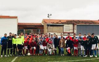 Éxito del partido de fútbol solidario a beneficio de Zoe en La Coronada 0728c1a975479