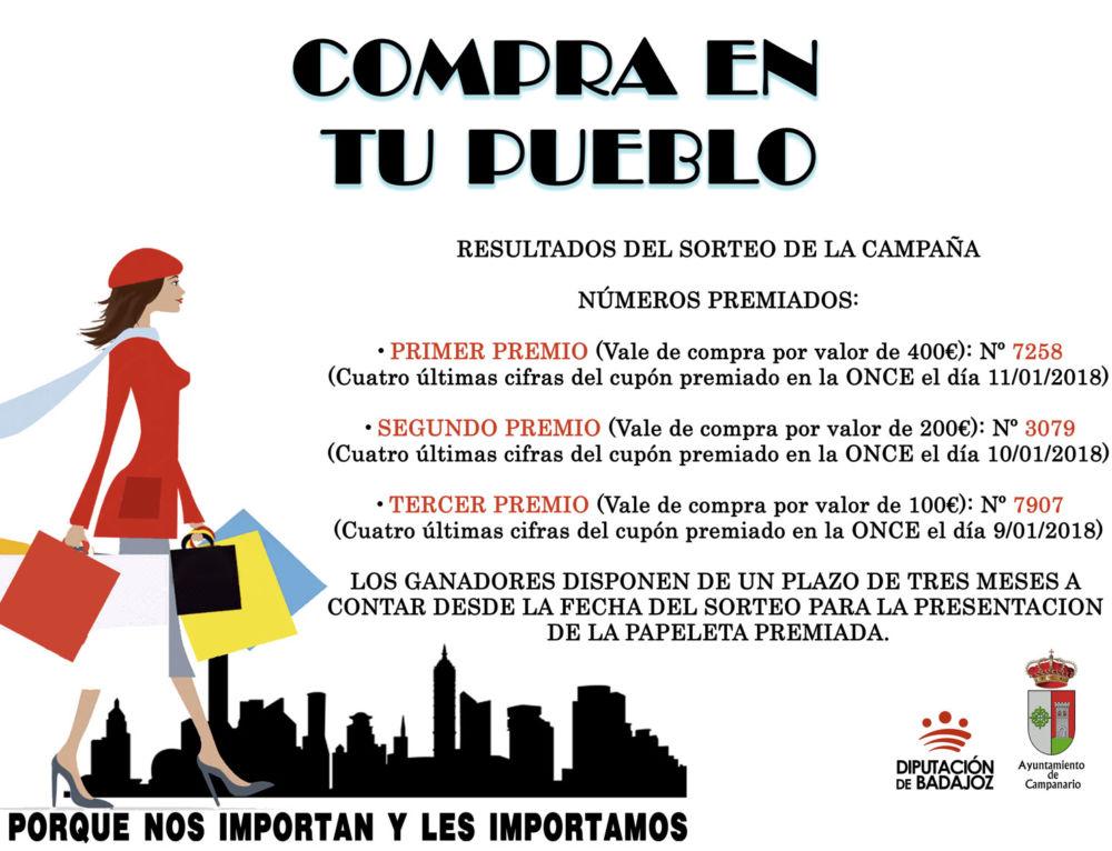 """La campaña """"Compra en tu pueblo"""" entrega los premios de su quinta edición"""
