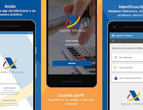 La Agencia Tributaria pone en marcha aplicación móvil de la Renta