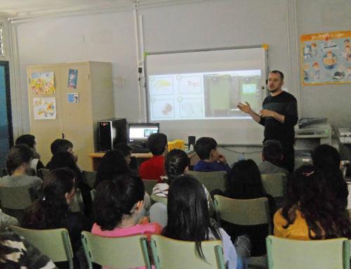 Taller de reciclaje en los centros educativos de Campanario