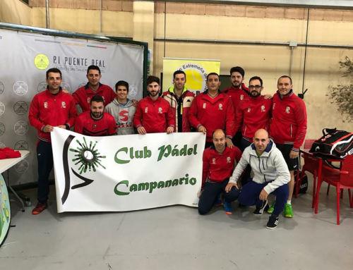 El Club de Pádel Campanario se mantiene en segunda categoría