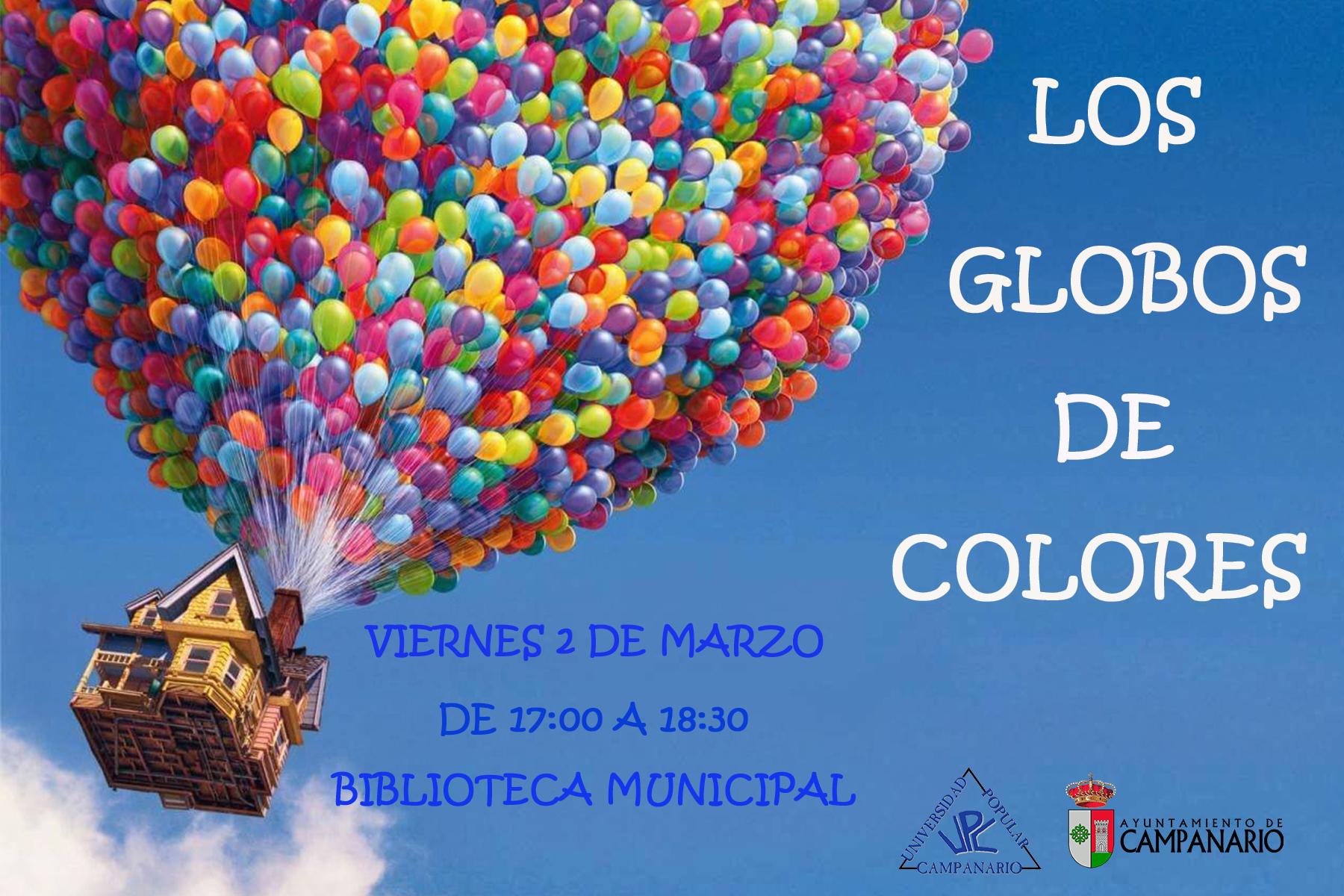 La hora del cuento Los globos de colores Ayuntamiento de Campanario
