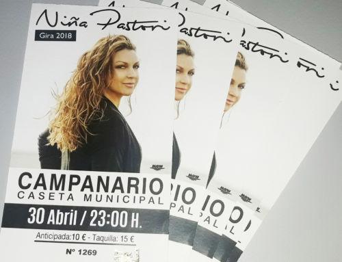 Últimas entradas para el concierto de Niña Pastori