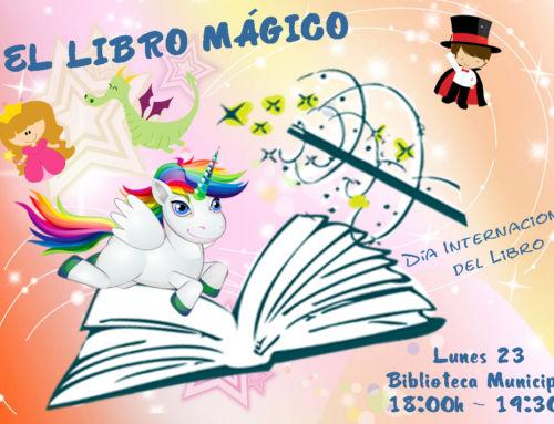 La hora del cuento – El libro mágico