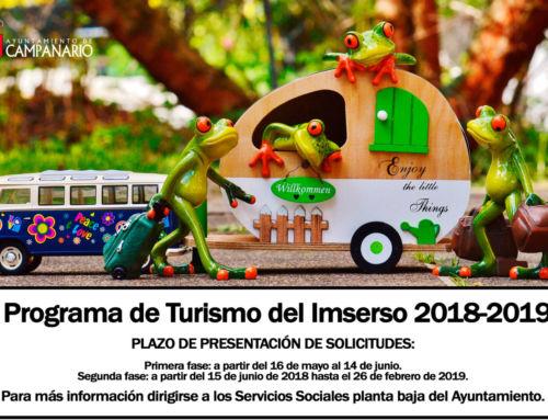 Abierto el plazo para los viajes del Imserso 2018-2019