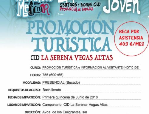 Últimas Plazas – Promoción Turística e Información al visitante