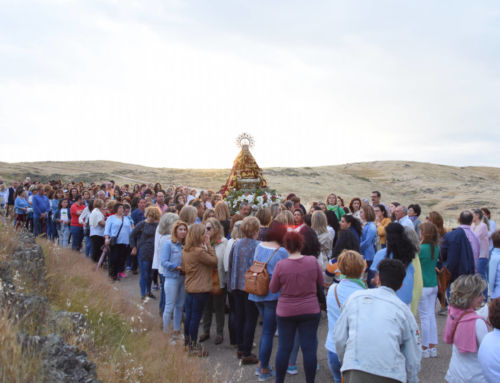 Despedida a la Virgen de Piedraescrita 2018