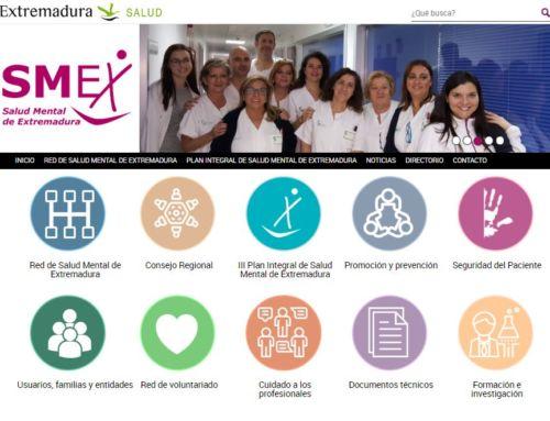 El Servicio Extremeño de Salud ha puesto en marcha un nuevo portal dedicado a la Salud Mental