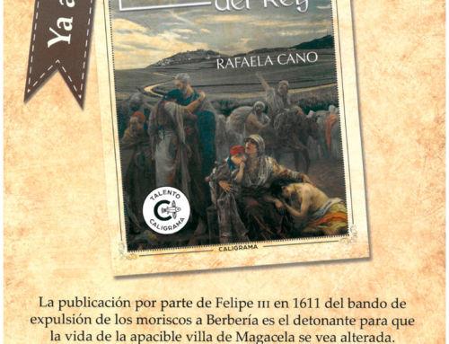 """Rafaela Cano presenta el próximo sábado 19 de mayo su nueva novela """"La Senda del Rey"""""""
