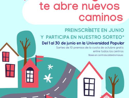 Centro Local de Idiomas de Campanario: sigue abierto el plazo de preinscripciones