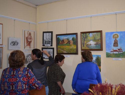 Exposición del curso de pintura de la Universidad Popular