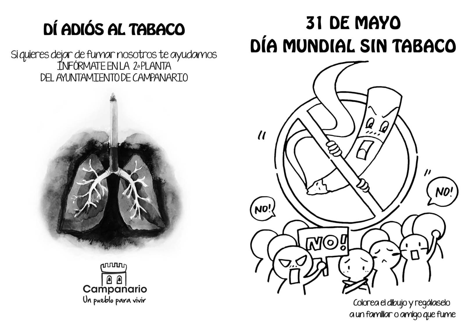 Día Mundial Sin Tabaco Dibujo Para Dibujar – Piku