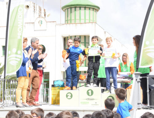 Más de 200 escolares de Campanario aprenden a reducir y reciclar residuos en la II Olimpiada de Promedio
