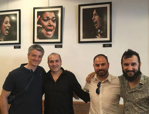 La exposición del campanariense Diego Gallardo 'Flamencas con voz' llega a Badajoz