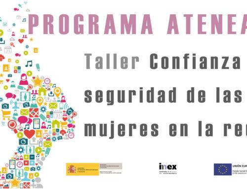 Programa ATENEA sobre Confianza y seguridad de las mujeres en la red