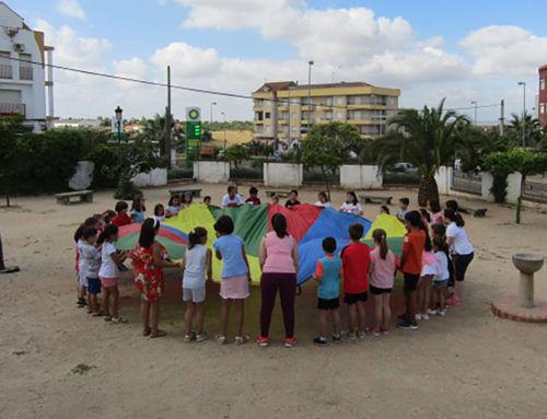 Comienza el campamento urbano con casi medio centenar de niños y niñas
