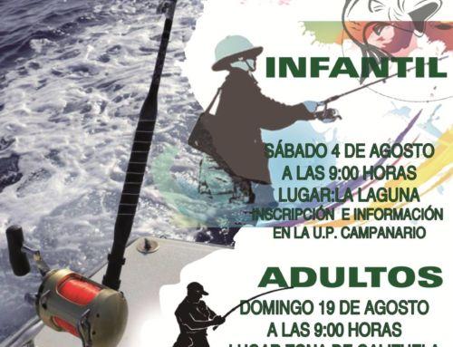 El Ayuntamiento organiza un campeonato de pesca para adultos e infantil