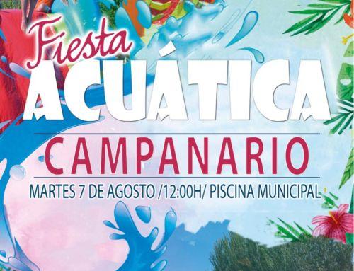 El público infantil disfrutará de una 'Fiesta acuática' en la Piscina Municipal