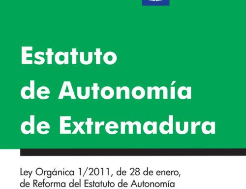 La Asamblea de Extremadura edita el Estatuto de Autonomía en Lectura Fácil