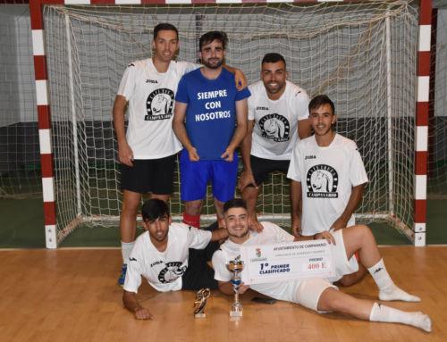 'Café Equus' gana la Liga Local de Fútbol Sala de Verano en la tanda de penaltis