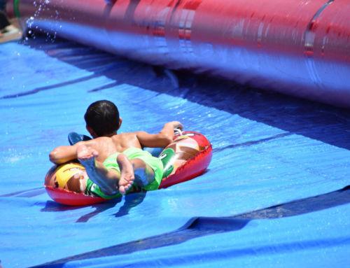 El Ayuntamiento potenció la Feria de Agosto por la mañana con actividades culinarias y acuáticas