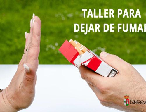 Campanario acogerá un taller para dejar de fumar