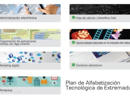 Comienza la segunda convocatoria de la formación online del Plan de Alfabetización Tecnológica