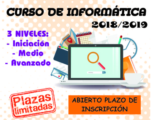 Nuevo curso de informática para adultos en la Universidad Popular