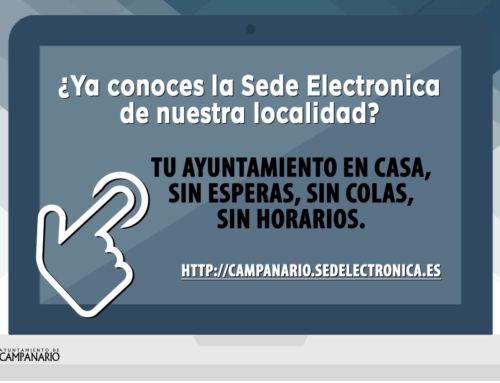 La Sede Electrónica: tu Ayuntamiento en casa