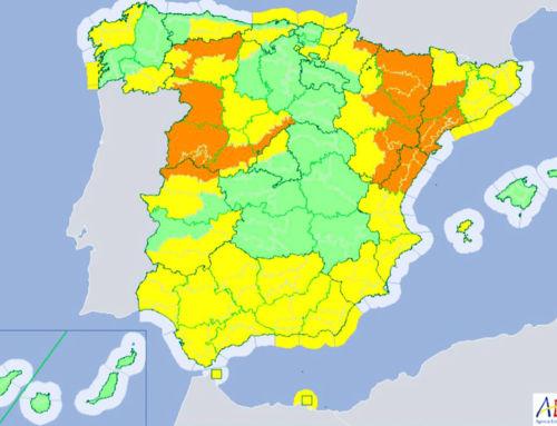 Aviso por tormentas de nivel amarillo este domingo en la provincia de Badajoz