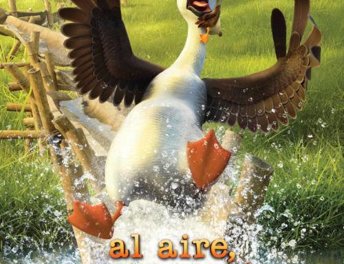El Cine Olimpia proyecta la película de animación 'Al aire, pato'