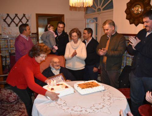 El vecino campanariense Ramón Cano cumple 100 años