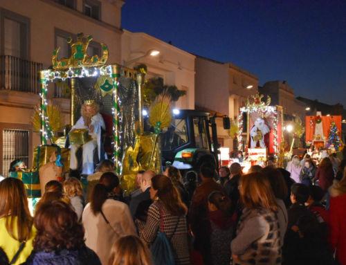 La Cabalgata de los Reyes Magos colma Campanario de ilusión y fantasía